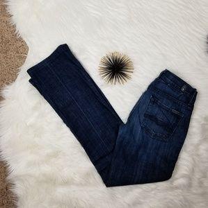 7FMK High Waist Bootcut Jeans